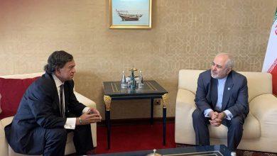 تصویر از دیدار ظریف با مقام سابق آمریکایی تایید شد