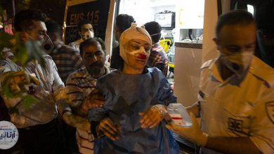 انفجار درمانگاه سینا اطهری تهران