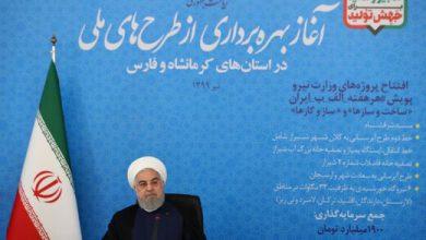 Photo of روحانی: هر پشت بام تبدیل به یک نیروگاه خورشیدی شود