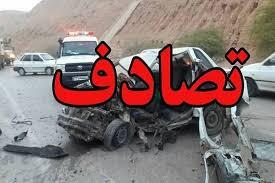 تصویر از تصادف منجر به فوت در بزرگراه آزادگان