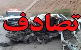 تصویر از مرگ مرد موتورسوار در اتوبان باقری تهران