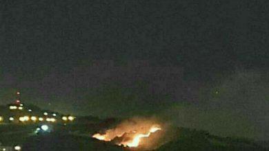 تصویر از جزئیات حادثه آتش سوزی جنگل شیان