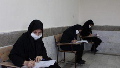 تصویر از اولین آزمون کشوری در ایام کرونا برگزار شد