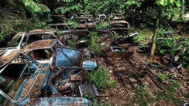 تصویر از گورستان ماشین ها،بلژیک