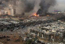 تصویر از انفجار بیروت؛ آیا چرنوبیل جدیدی در راه است؟