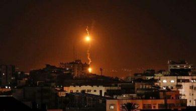 تصویر از تداوم حملات رژیم صهیونیستی به نوار غزه