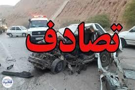 تصویر از تصادف خونبار در جاده مشهد
