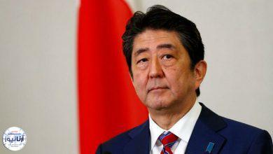 تصویر از نخستوزیر ژاپن استعفا میکند