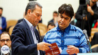 تصویر از وکیل روح الله زم: احتمالاً رأی پرونده روز شنبه ابلاغ شود