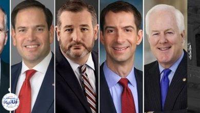 تصویر از درخواست ۶ سناتور آمریکایی برای تحریم کل بخش مالی ایران