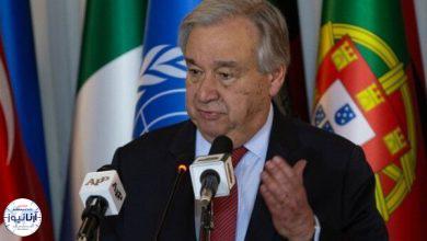 تصویر از دبیرکل سازمان ملل متحد: به دلیل تردیدهای موجود، درباره تحریمهای ایران اقدامی نمیکنم