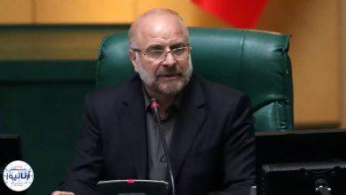 تصویر از رئیس مجلس شورای اسلامی: ترامپ و بایدن تفاوتی ندارند