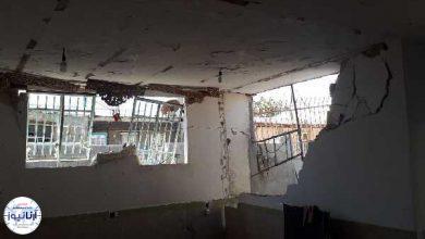 تصویر از انفجار منزل مسکونی در باغابریشم کرمانشاه بر اثر تجمع گاز
