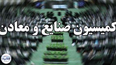 تصویر از سخنگوی کمیسیون صنایع و معادن مجلس: کمیسیون صنایع صلاحیت رزم حسینی را تأیید کرد