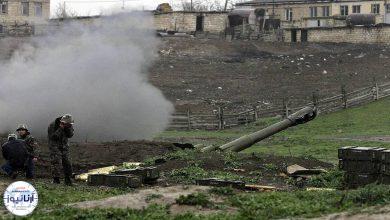تصویر از درگیریهای ارمنستان و جمهوری آذربایجان همچنان ادامه دارد