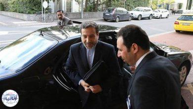 تصویر از عراقچی با وزیر خارجه ارمنستان دیدار کرد
