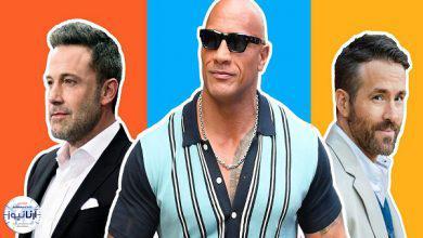 تصویر از نام های عجیب پردرآمدترین بازیگران سال ۲۰۲۰