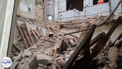 تصویر از پیکر ۲ جانباخته ریزش ساختمان در تهران کشف شد