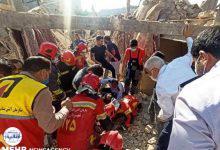 تصویر از وقوع انفجار گاز در بازار عامری در اهواز
