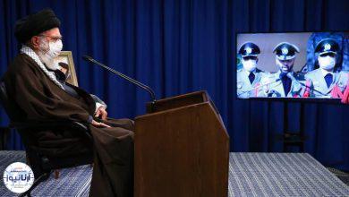 تصویر از ارتباط تصویری فرمانده کل قوا با مراسم مشترک دانشآموختگی دانشجویان دانشگاههای افسری نیروهای مسلح
