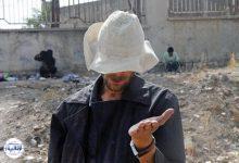 تصویر از متکدی میلیاردر در قزوین روانه زندان شد!