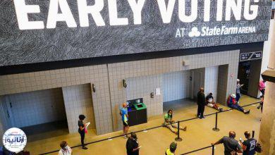 تصویر از شهروندان آمریکایی رکورد شرکت در انتخابات پیش از موعد را شکستند