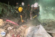 تصویر از حمله موشکی به ۲ شهر جمهوری آذربایجان و کشته شدن ۱۳ غیرنظامی