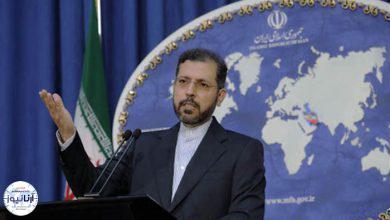 تصویر از در نشست خبری سخنگوی وزارت خارجه : تذکر ایران به ریاض | طرح ایران برای حل بحران قرهباغ