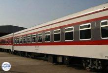 تصویر از برخورد دو قطار در مسیر راه آهن تاکستان به رشت