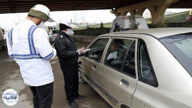 تصویر از ۵ هزار خودرو جریمه کرونایی شدند