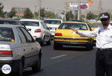 تصویر از چگونگی وضعیت تردد رانندگانی که پلاک خودروی خود را تعویض نکردهاند