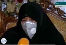 تصویر از همسر شهید فخری زاده: نگذاریم خون شهید فخریزاده پایمال شود