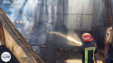 تصویر از انفجار مهیب در کارخانه صنعتی اردستان