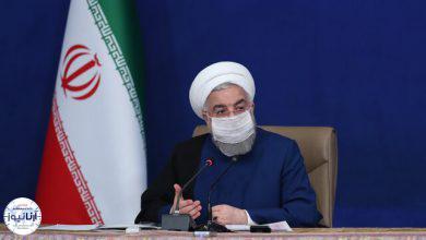 تصویر از روحانی: به موقع پاسخ ترور شهید فخریزاده را میدهیم