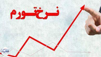 نرخ تورم در کشور